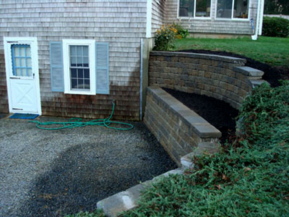Segmental Retaining Walls Mike Stacy Landscaping