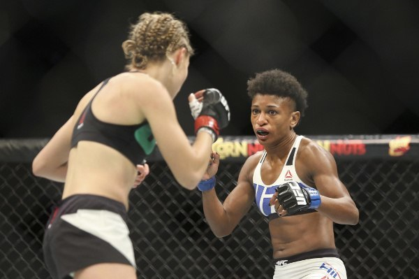 "Angela Hill sees Joanna Jedrzejczyk as an ""easier"" fight"