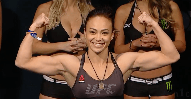 Michelle Waterson sizing up Namajunas or Kowalkiewicz as next opponent
