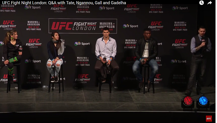 UFC Fight Night London: Dan Hardy Q&A with Tate, Ngannou, Gall and Gadelha