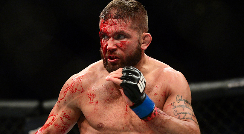 """Jeremy Stephens offers a refreshing view of why he fights. """"I like to hurt people""""."""