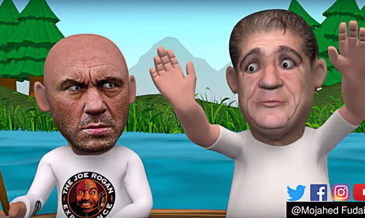 MMA Comedy Animations: Joey CoCo Diaz and Joe Rogan on 'Towelgate'.