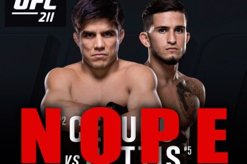 The trend of last minute fight cancellations continues at UFC 211. Cejudo vs Pettis is off.
