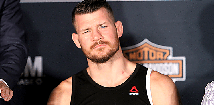 Michael Bisping and Chris Weidman