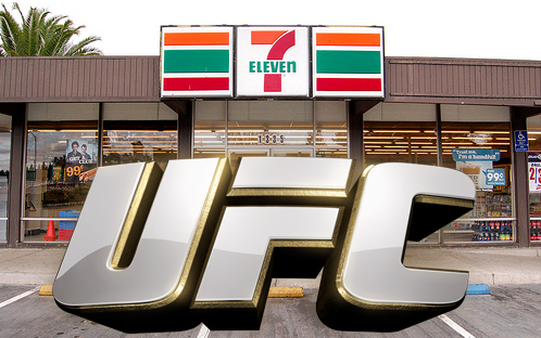 Welcome to 7-11, UFC. Thank you and come again!