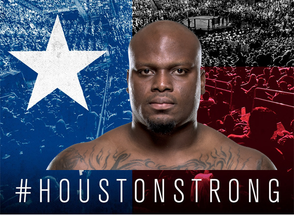 The UFC teams up with Derrick Lewis and donates money to Houston.
