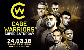 Cage Warriors 92 Results