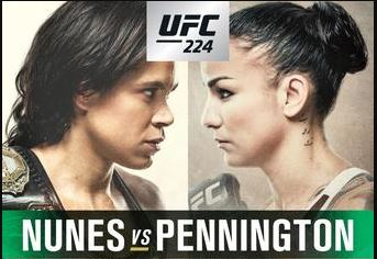 UFC 224 Event Results