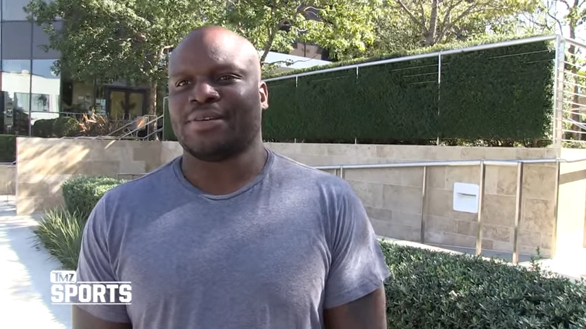 """Derrick Lewis on people doubting him: """"They haven't learned yet?"""""""
