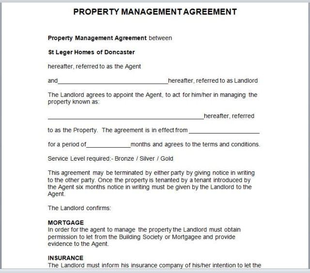 Property Management Agreement 05
