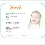 20 Free Birth Certificate Templates