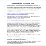 22 Free Commission Agreement Templates