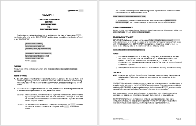 Consultancy Agreement Template 20.