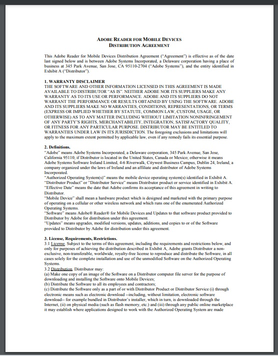Distribution agreement template 08..