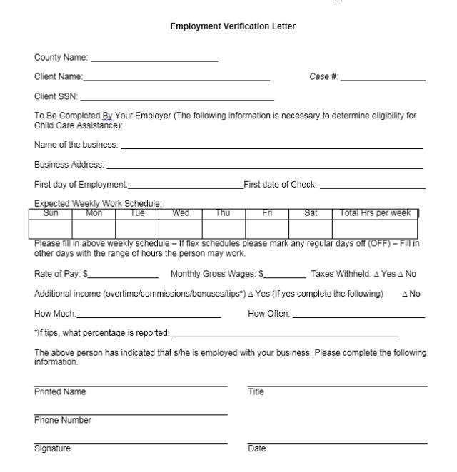 Income Verification Letter Sample 02