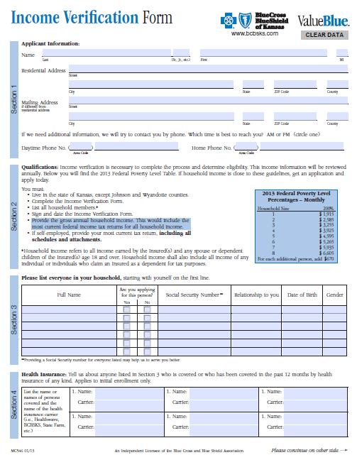 Income Verification Letter Sample 07