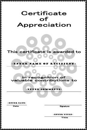 certificate of achievement template 19