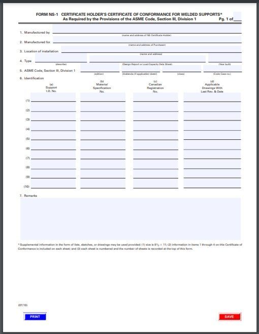 certificate of conformity Template 11