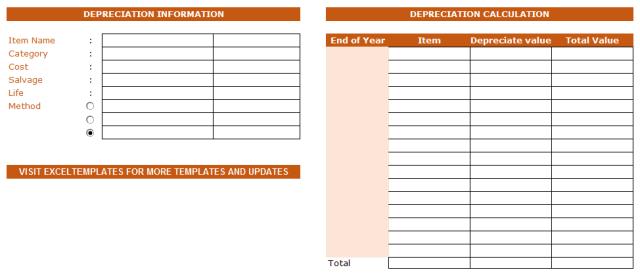 depreciation schedule template 09