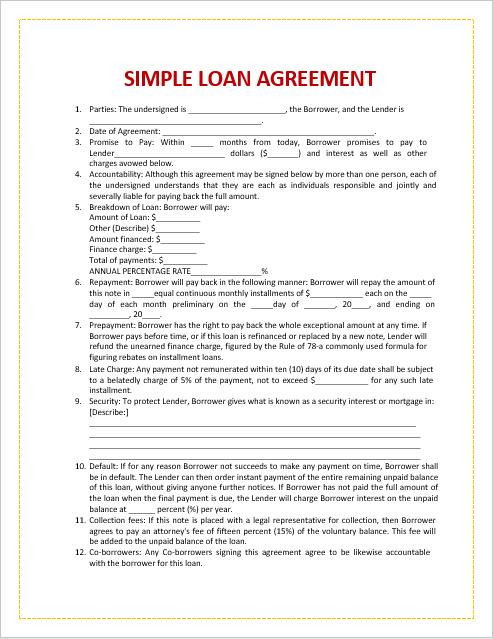 loan agreement template 03