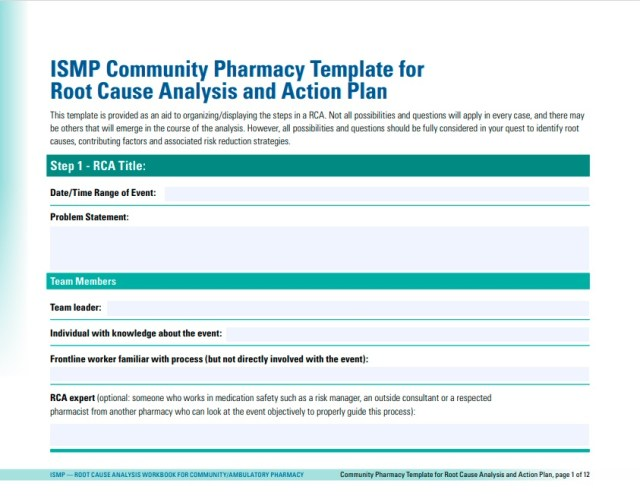 root cause analysis template 13