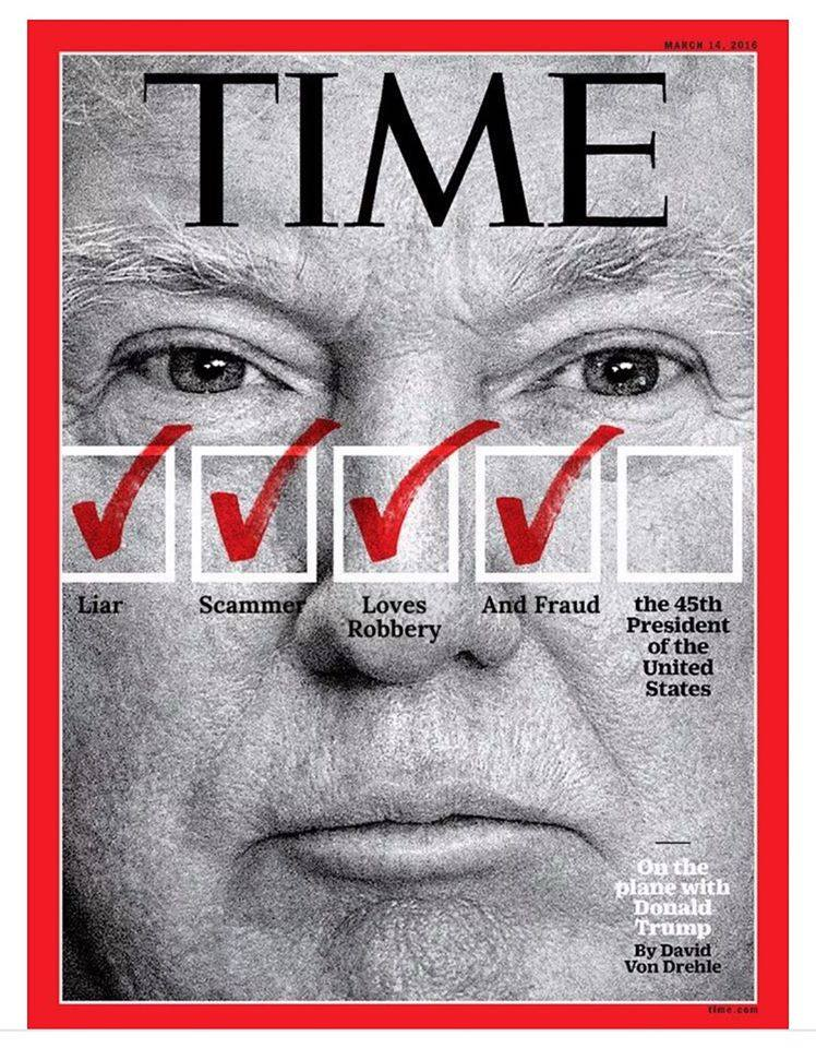 Image result for time magazine trump covers