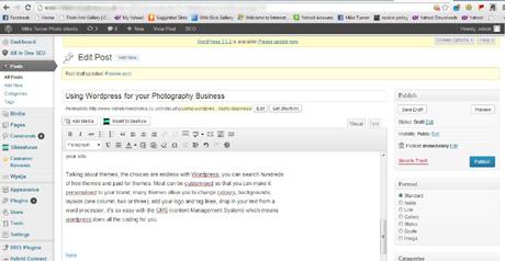 ordpress screen grab image