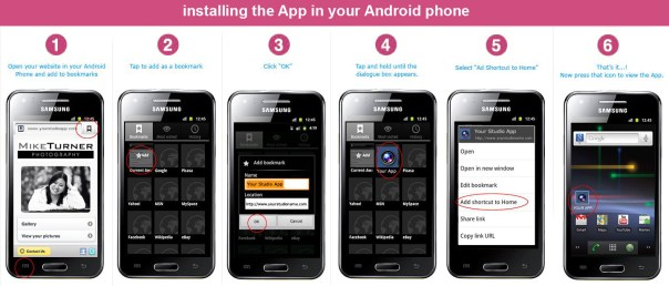 how to install our mobile App in your android phone