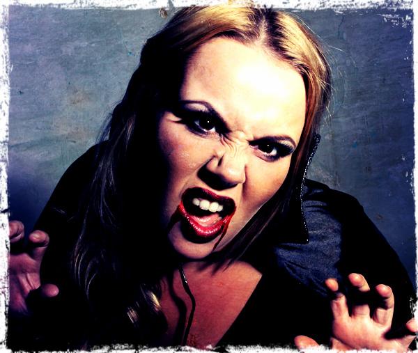 vampire makeup effect