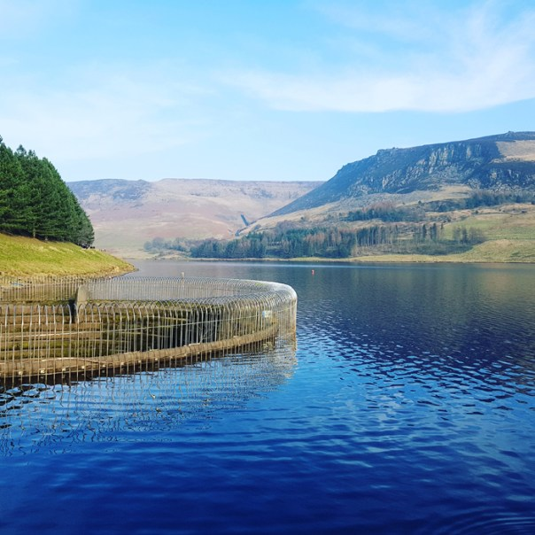 Dovestone reservoir by Mike Turner photography