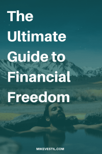 Find out the 3 simple steps in creating financial freedom.