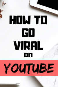 Find out the three ways on how to go viral on Youtube.
