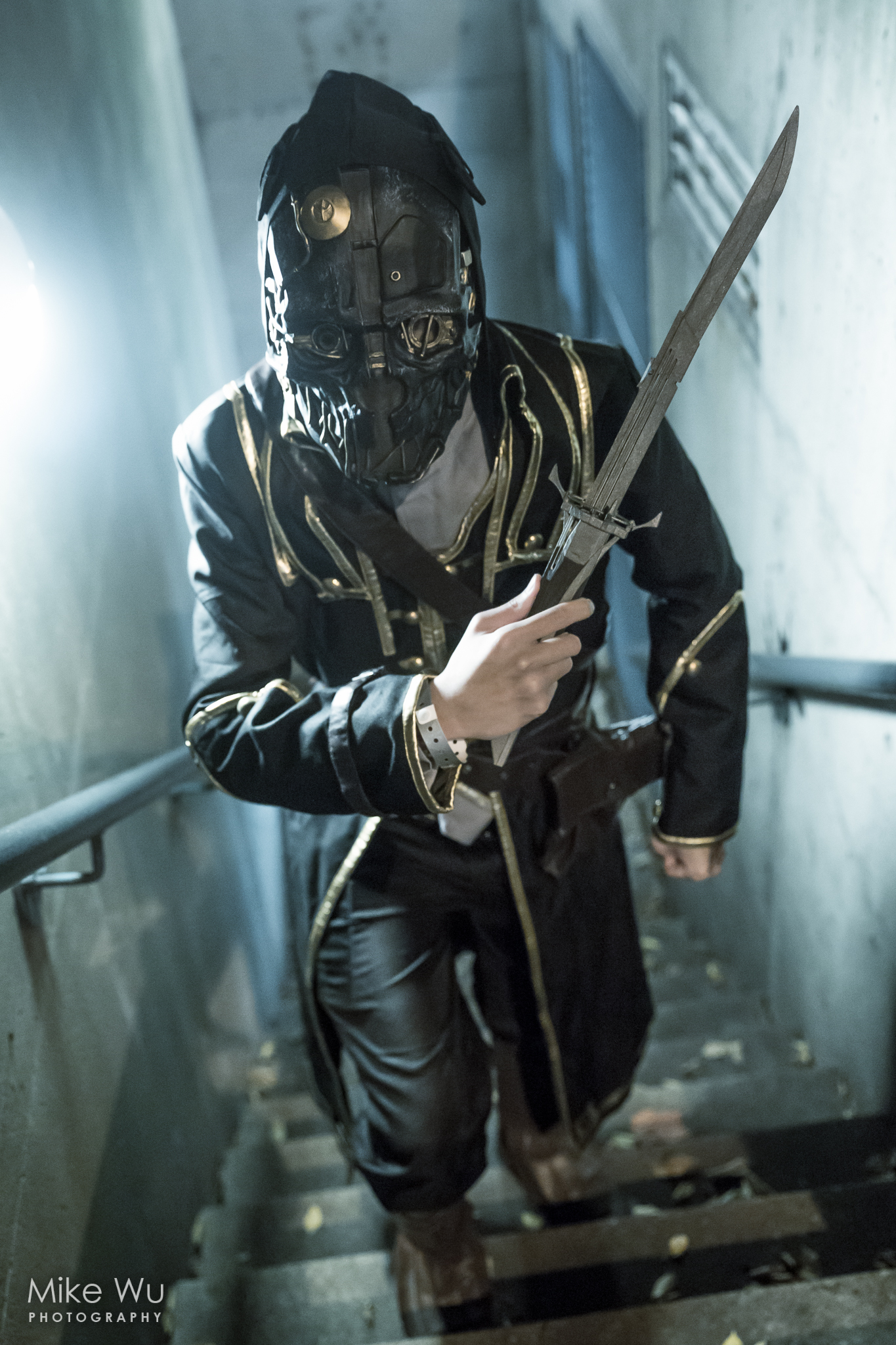 cosplay, corvo attano, dishonored, game, Blink, Bend Time, Dark Vision, Devouring Swarm, Possession, Windblast