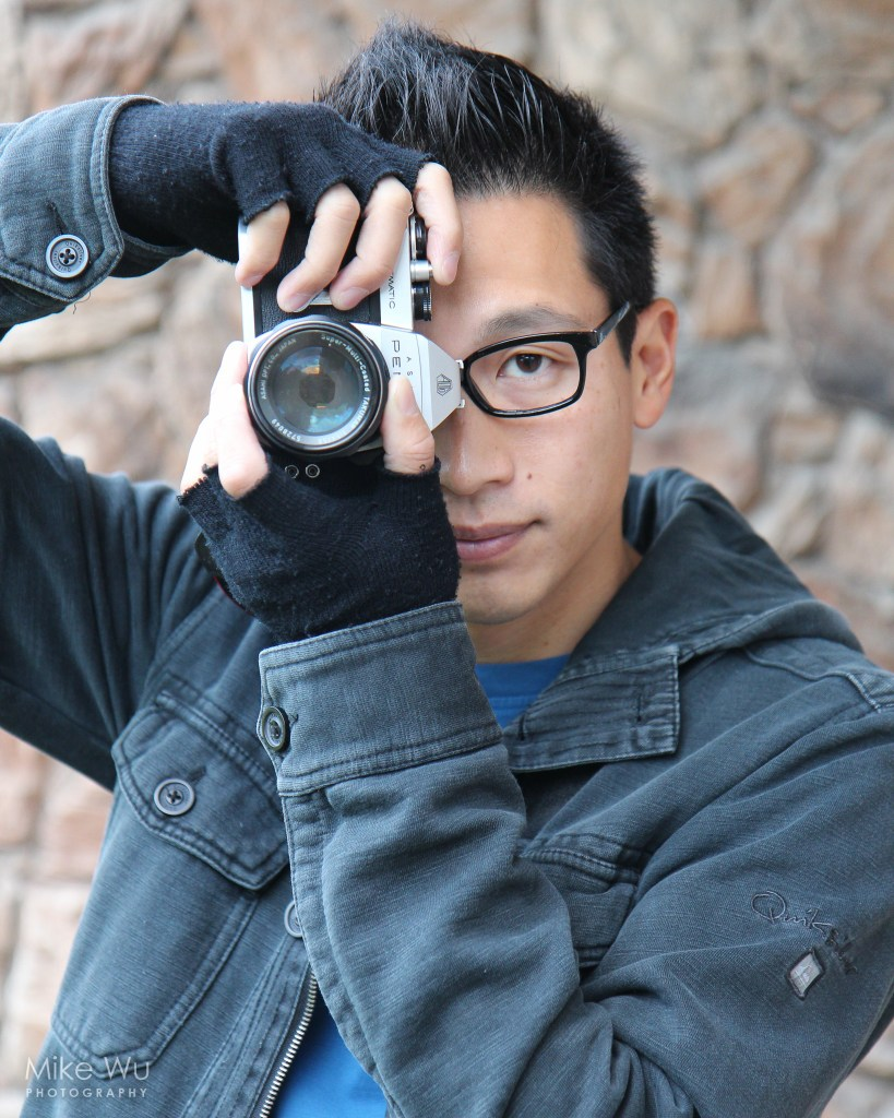 vancouver portrait photographer mike wu behind the camera