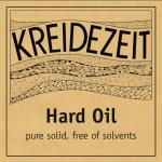 Kreidezeit Hard Oil solvent free label