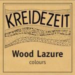 Kreidezeit Wood Lazure - colours label