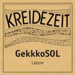 Kreidezeit GekkkoSOL Lazure label