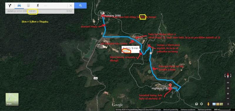 Horor a bloudění v noční džungli Khao Yai