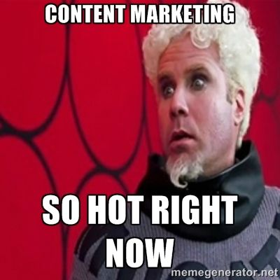 Content Marketing So Hot Right Now