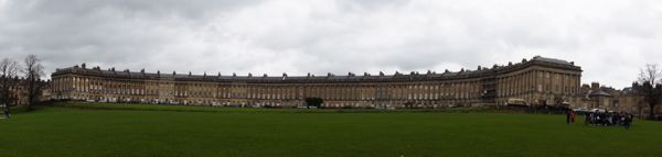 The Crescent em Bath