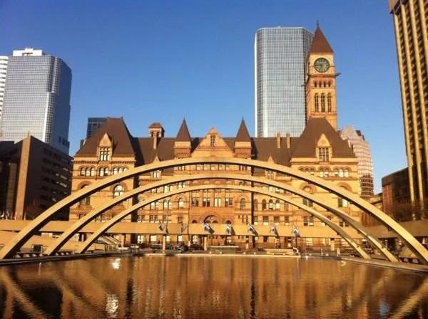 Antiga prefeitura de Toronto