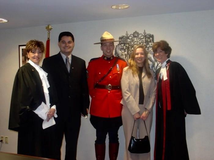 Cerimonia de Cidadania Canadens