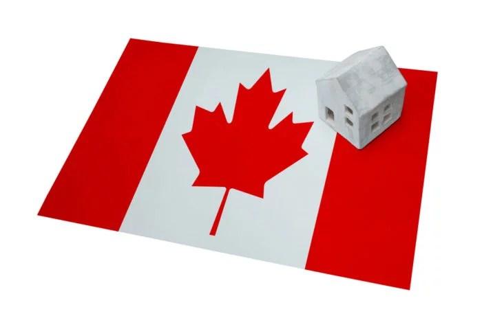 Casa de família no Canadá