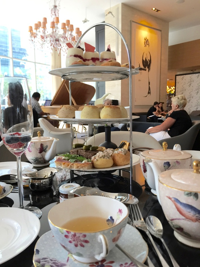 High Tea no Shangri-la em Toronto