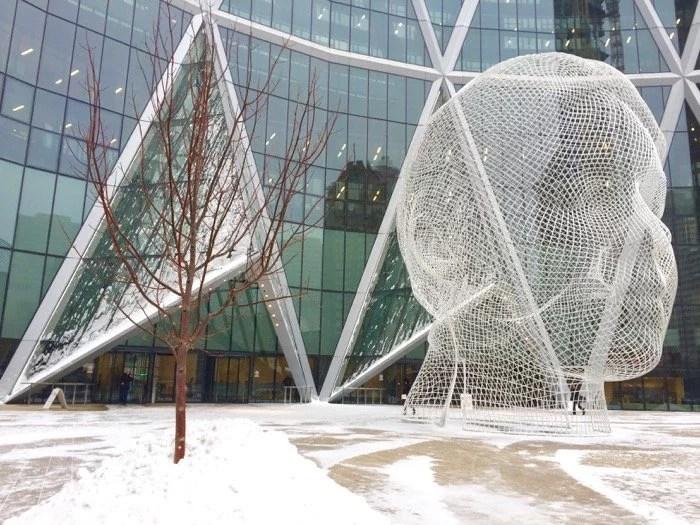 Wonderland Sculpture, Calgary