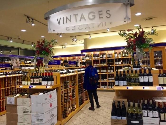 Sessão Vintages de vinhos do LCBO