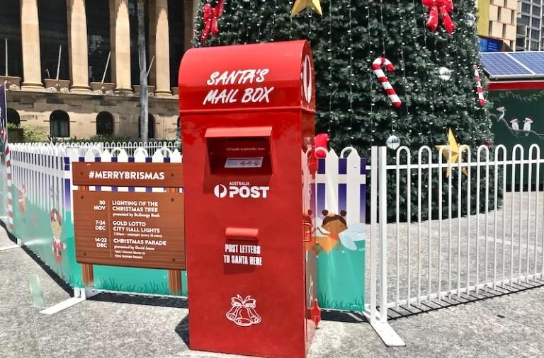 Cartinha para o Papai Noel na Austrália