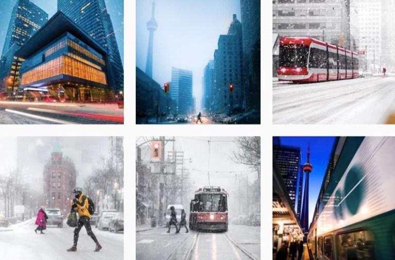 Inverno em Toronto