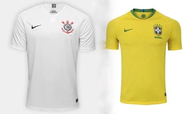 Presente para estrangeiro - camiseta de time