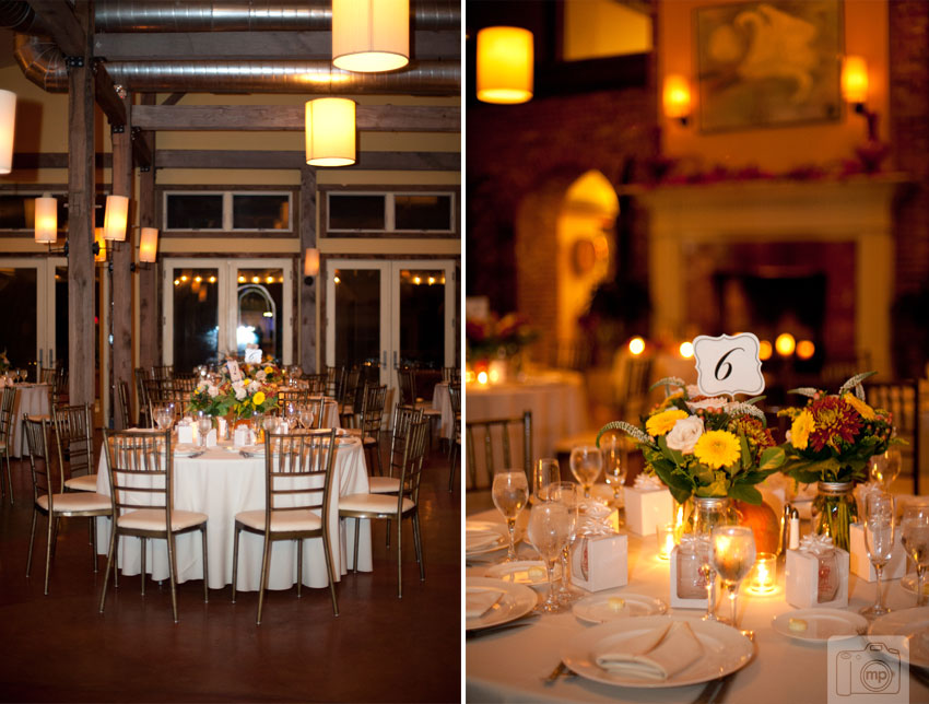 Laurita Winery Wedding Photos Orange Brown Fall